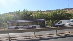 Büyükşehir Yolcu Otobüsü Alev Aldı