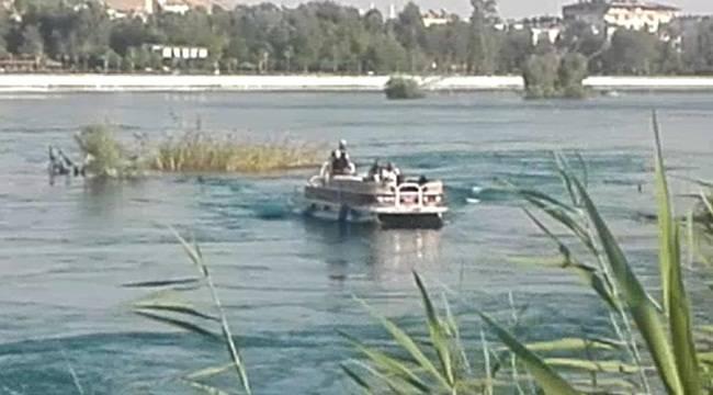 Girdiği Fırat Nehrinde Kayboldu