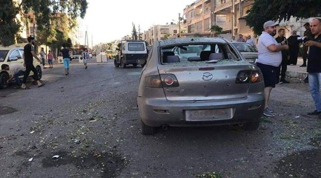 Halep'e Füze Düştü 6 Ölü 9 Yaralı