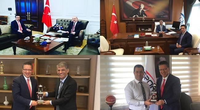 Halfeti İçin Ankara'da Önemli Temaslar