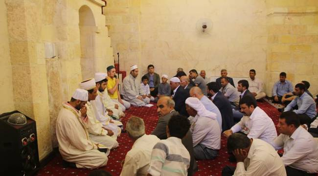 Harran'da 15 Temmuz Şehitleri İçin Mevlit Okutuldu