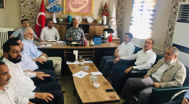 İlçe Müftüleri Toplantısı Bozova'da Yapıldı