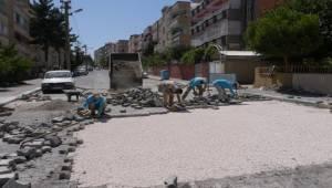 İpekyol'da Yol Onarım ve Yenileme Çalışması