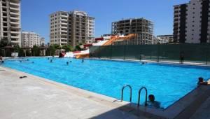 Karaköprü Aquapark Faaliyete Geçti