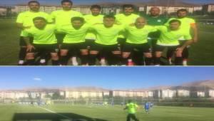 Karaköprü İle Malatya Yeşilyurt Maçında Gol Düellosu