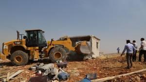 Nemrut'un Tahtındaki Kaçak Yapılar Yıkıldı