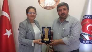 Polat Başkan Güler'i Ziyaret Etti