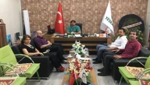 Rektör Yardımcısı Çiğdem'den Yeşilay'a Ziyaret