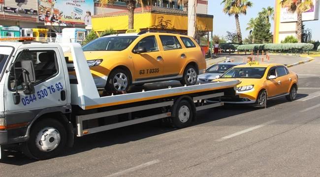 Şanlıurfa'da Birçok Taksiye Ceza Yağdı