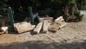 Şanlıurfa'da Hırsızlar Mezarlığa Dadandı