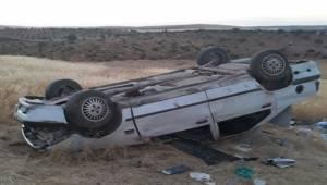 Şanlıurfa - Suruç Kara Yolunda Kaza 4 Yaralı
