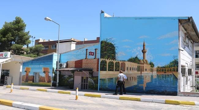 Urfa'da Tarihi Eserler Çizilerek Resmedildi
