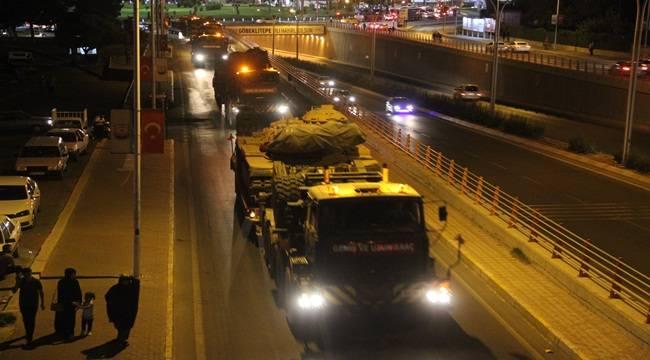 Şanlıurfa Tugayından 70 Askeri Araç Çıktı