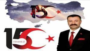 Başkan Sayık Türk Milleti Demokrasi Dersi Verdi