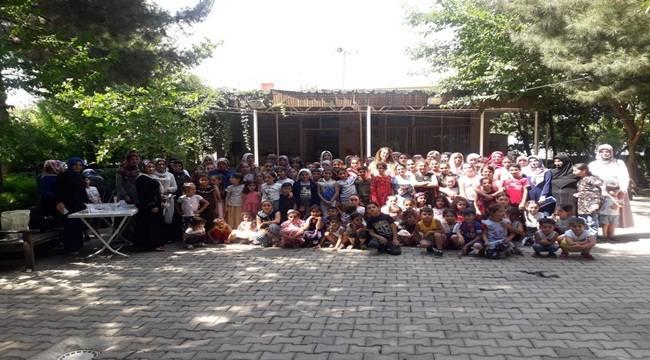 Siverek'te Çocuklar Gönüllerince Eğlendi