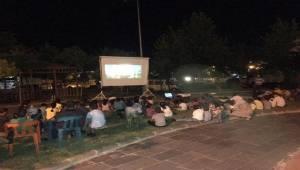 Siverek'te Yaz Sinema Etkinlikleri Başladı