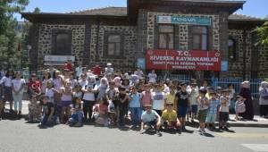 Siverekli Öğrenciler Yaz Tatilini Dolu Dolu Yaşıyor