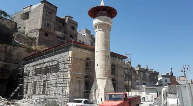 Tarihi Cami'nin Restorasyonu Tamamlanıyor