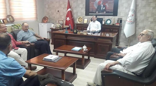 Türk Eğitim-Sen'den Tekyıldız'a ziyaret