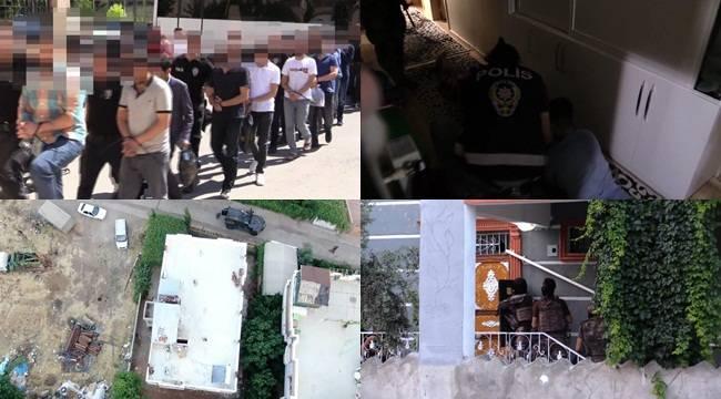 Urfa'da Droneli Operasyon 18 Tutuklu