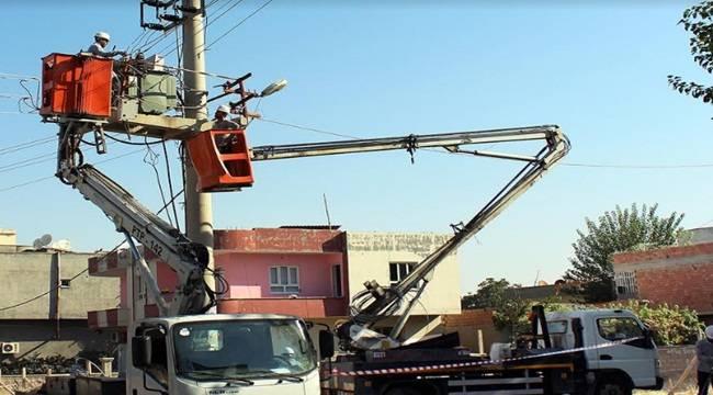 Urfa'da Elektrik Arıza Sayısı Azaldı