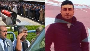 Urfa'da Şehit Olan Şevik Son Yolculuğuna Uğurlandı