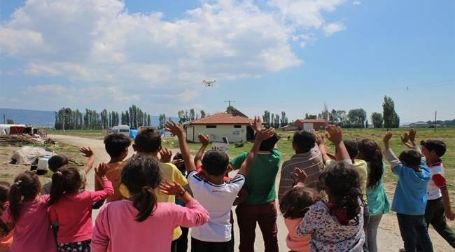 Urfalı Çocuklar Drone Merakını Giderdi