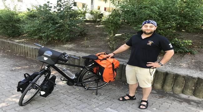Urfalı Hasan 3 Bin Km Pedal Çevirecek