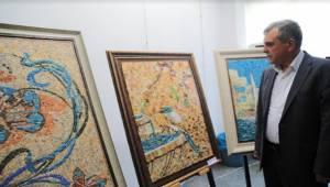Urfalı Kadınlardan Mozaik Sergisi