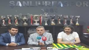 Urfaspor'un Yeni Teknik Direktörü İmzaladı