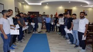 Viranşehir'de Başarılı Memurlar Ödüllendirildi