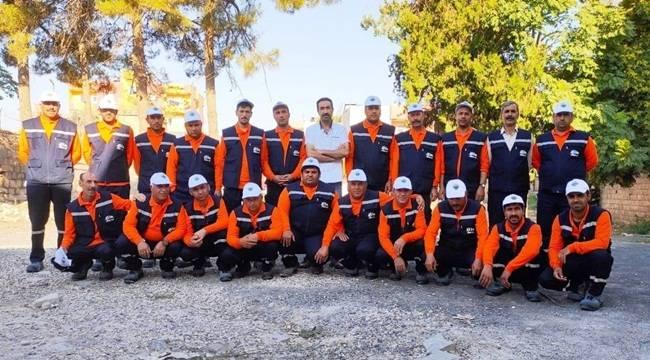 Viranşehir'de Personellerin Ekipmanları Değişti