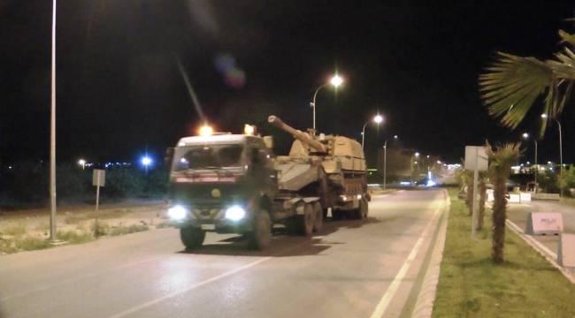 Zırhlı Araçlar Urfa İlçelerine Gitti