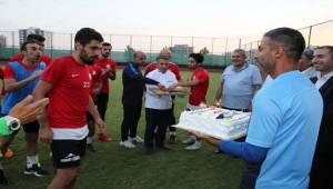 Başkan Aslan Futbolculara Moral Verdi