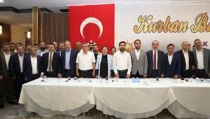 Beyazgül AK Partinin bayramlaşma programına katıldı