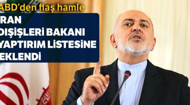 İran Dışişleri Bakanı Zarif'e Yaptırım