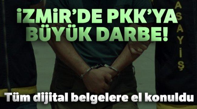İzmir'de PKK/KCK'ya darbe: 9 gözaltı