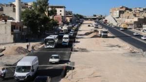 Karakoyun Köprülü Kavşağı Asfaltlandı