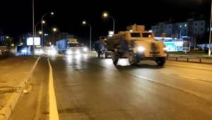 Suruç'a Komando Sevkıyatı Yapıldı