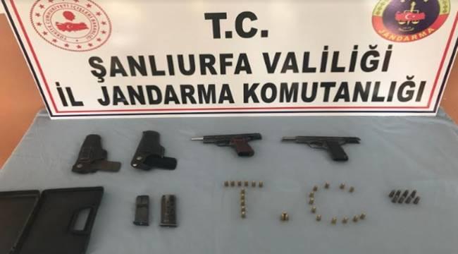 Suruç'ta Silah Tacirlerine Operasyon