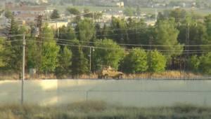 Türk Zırhlısını Gören Teröristler Apar Topar Uzaklaştı