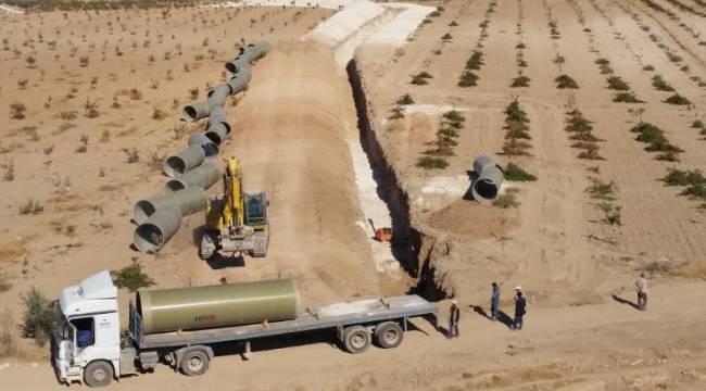 Urfa'da 31 Bin dekar Arazi Suya Kavuşacak