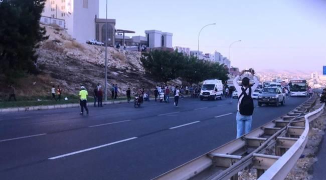 Urfa'da Patlayıcı Paket Fünyeyle Patlatıldı