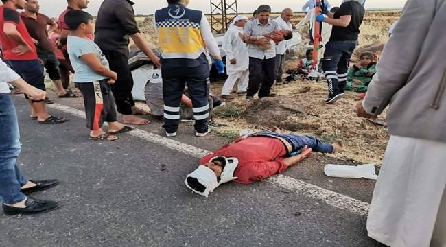 Viranşehir'de Kaza 7 Yaralı