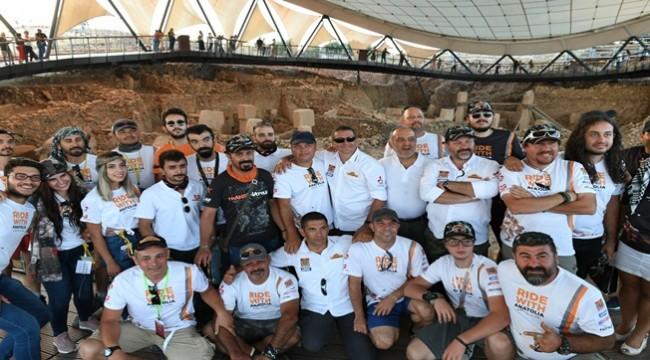 500'ü Aşkın Sporsever Göbeklitepe'yi Ziyaret Etti