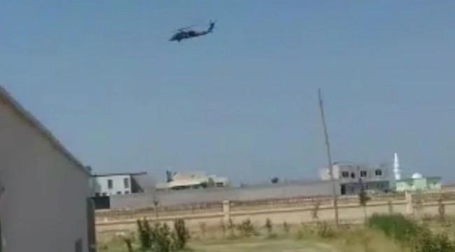 ABD'ye Ait 2 Helikopter Suruç'a Doğru Gitti