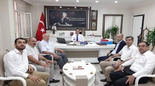 Başkan Yavuz'dan Kaymakam Aktaş'a Ziyaret