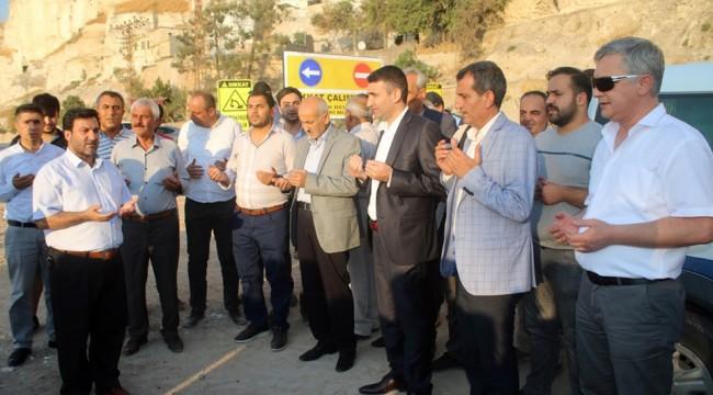 Birecik-Halfeti Yolu Araç ve Yaya Trafiğine Açıldı