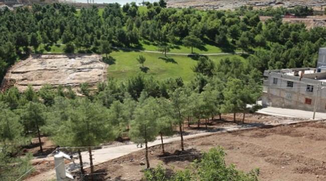 Eyyübiye'ye 20 Bin Metrekarelik Yeşil Alan