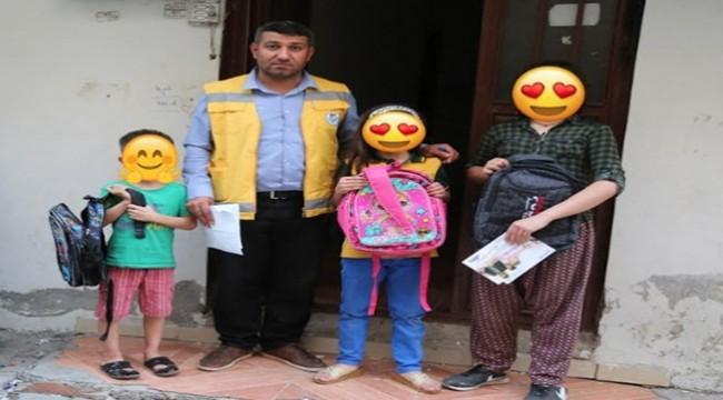 Haliliye'de Öğrencilere Kırtasiye Yardımı